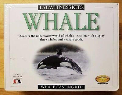 Skullduggery Eyewitness Kit Whale Casting Kit Hands On Learning! NEW & On SALE!