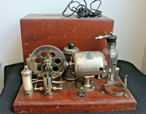 Rare Antique STEINER AEROIZER Medical Embalming Pump Machine in Wooden Case