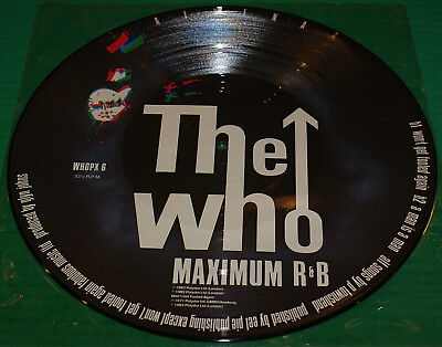 The Who Athena picture disc 12