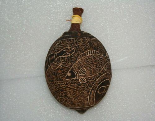 Aboriginal Carved Boab Nut Lizard Turtle Fish Wandjina Australia Norval Gallery