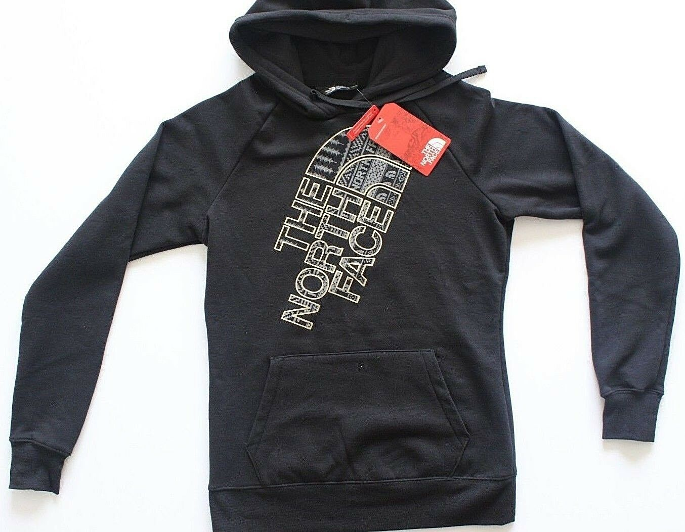 The North Face Rare Unique Women's Hoodie Pullover Black and