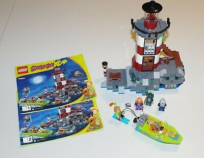 LEGO Scooby-Doo Haunted Lighthouse 75903 Set Complete w/ Minifigures, Manuals