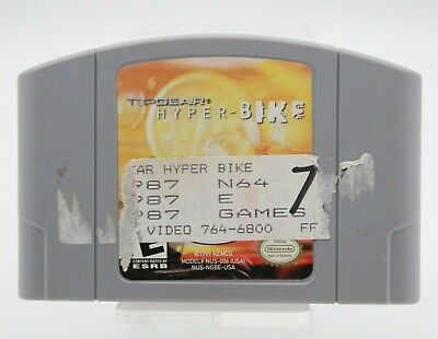 Top Gear Hyper Bike N64 (Nintendo 64, 2000) Cartridge Only