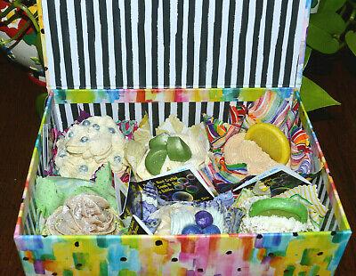 FREE DELIVERY OMAHA NE METRO AREA SB2 Artisan Soap JUMBO Cupcakes 6 PACK 3 lbs