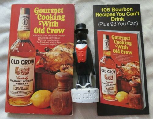 OLD CROW - BOTTLE TOPPER - ADVERTISING - GOURMET COOKING - 1970 - PROMOS