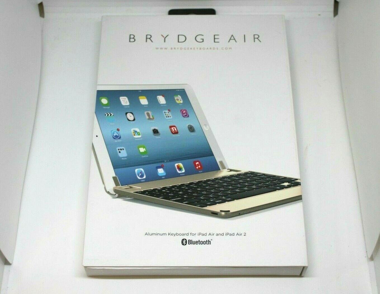 "BrydgeAir 9.7"" Bluetooth Backlit Aluminum Keyboard For iPad"