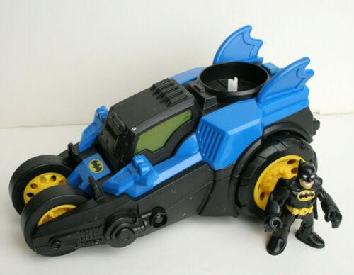 Batman Imaginext Motorized Batmobile Super Friends Fisher Price Figure - no disc