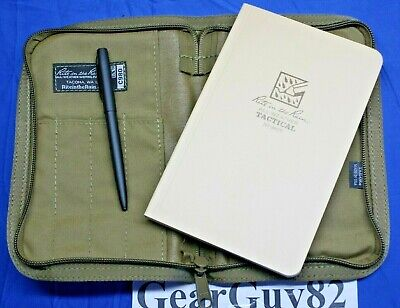 Rite In The Rain 980t Kit All Weather 5x7 Notebookpen And Carrying Case - Tan