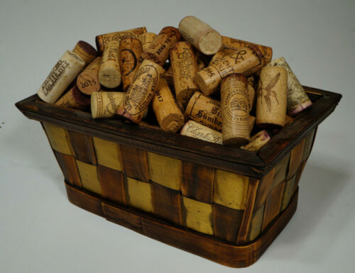250  all NATURAL wine CORKS -  variety of AUTHENTIC labels from an EXOTIC resort