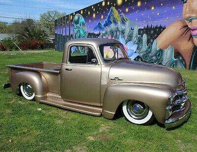 1955 Chevrolet Other Pickups CUSTOM SHORT BED RestoMod PICKUP TRUCK hot rod street vintage bagged 1954 1953 1952 1951 1950 49