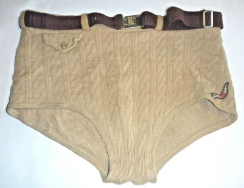Antique JANTZEN Wool MENS Swim TRUNKS Altoona PA