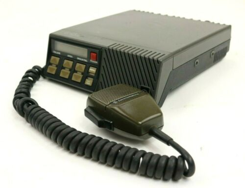Vintage General Electric GE TMX 8825 Mobile Radio Transceiver with Mic