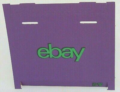 """NEW 20 x Purple / Green ❤️ Small CARDBOARD POSTING BOXES ❤️ 9.02"""" x 6.3"""" x 0.75"""""""