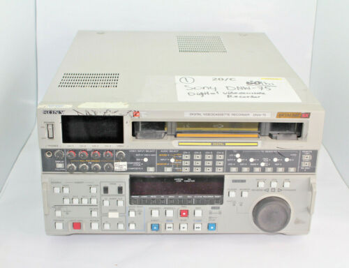 Sony DNW-75 Digital Videocassette Recorder Betacam SX Used