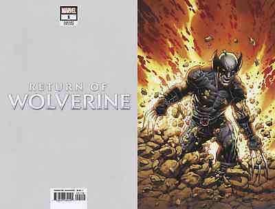 Return von Wolverine 1 1:400 Mcniven X-Force Kostüm Reine Variante NM HE'S - Kostüm Von Wolverine