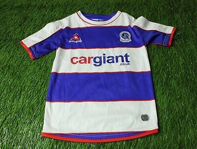 QPR ENGLAND 2007/2008 FOOTBALL SHIRT JERSEY HOME LE COQ SPORTIF ORIGINAL YOUNG image