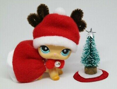 For Littlest Pet Shop Custom Accessories Bow Christmas Outfit Gift NO LPS  ()