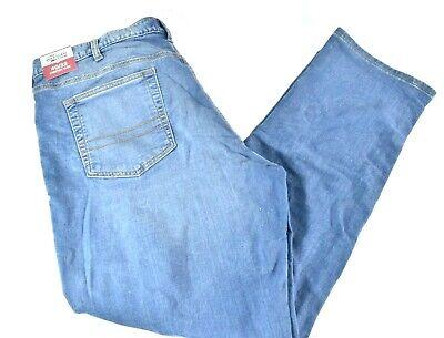 Tommy Hilfiger Mens Jeans New 40 x 32 Stretch Slim Blue Knit Denim Casual