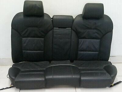 Audi A8 4e D3 Seat Back Seatbelt Middle Centre Rear Armrest Leather Kalbsnappa