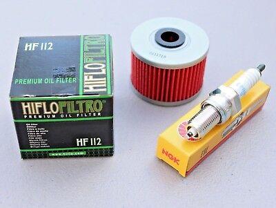 Spark Plug XR 600R HONDA XR600R 1985–2000 Tusk Tune Up Kit Air /& Oil Filter