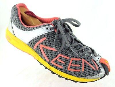 blau grau hellb KEEN SCHUHE Footwear Damen Schuhe 1012235 Sneaker A86 TR Magnet