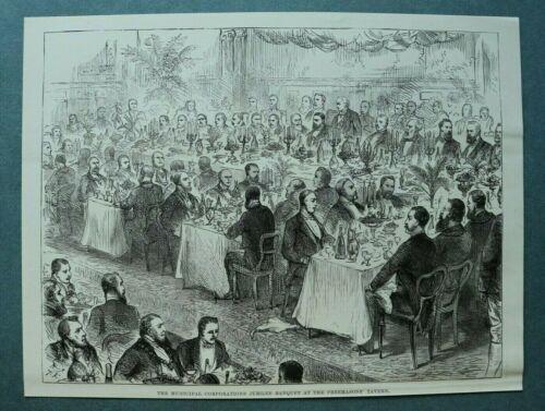 L1d%29+Holzstich+London+1885+Freimaurer+Freemasons+Tavern+Municipal+Corporation