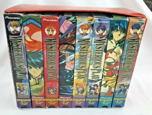 Fushigi Yugi The Mysterious Play 8 VHS Box Set ANIME