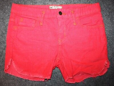 Cord Cut Off Short (NEW Free People Grenadine Cut Off Corduroy Cord Pink Shorts Distressed W 28)