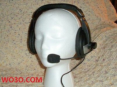 Headset Mic For Yaesu Ft-847 Ft-920 950 1000 Mp 2000 Jst-145dx 8 Pin Round Conn