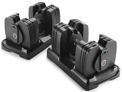 Bowflex SelectTech 560 Adjustable Dumbbells Weight Set Exercise Equipment NEW