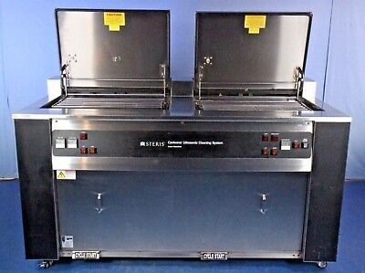 Steris Caviwave 20 Gallon Large Heated Ultrasonic Cleaner Tested W Warranty