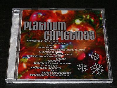 Various Platinum Christmas CD 2000 Near Mint Britney Spears Nsync Dave Mathews - Britney Halloween