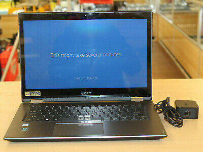 Acer Spin SP314-51-32Z9 Windows 10 Intel Core i3 Laptop Computer * Pre-owned*
