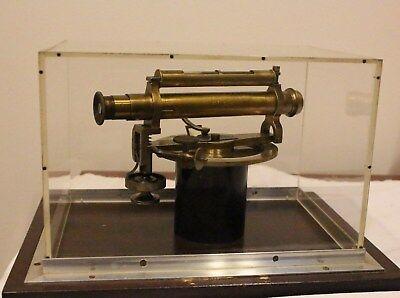 Antique Brass Starke Kammerer Wein Brass Transit Surveyor Tool