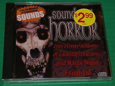 Sounds Of Horror Halloween New Cd  Weird Fun To Scare Trick Or Treaters With!!! - Scaring Trick Or Treaters