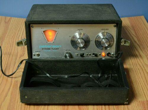 Peterson Strobe Tuner Model 400 VINTAGE - NO Ceramic Microphone