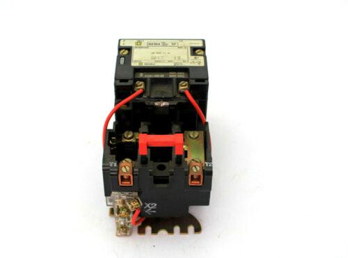 Square D 8536SC02S 600V SER A Nema 1 Motor Starter