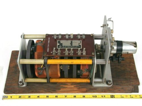 Superior Electric 116-1001 Cycle Variac 3 Phase Motor Driven