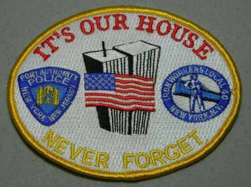 9/11 PAPD NY NJ PORT AUTHORITY PATCH 20TH MEMORIAL YEAR P.A.P.D. NEW YORK JERSEY