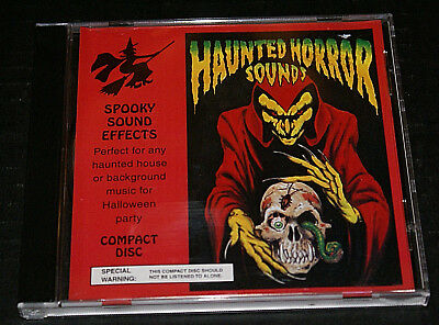 Scary Halloween Sounds & Spooky Sound Effects (Horror Sounds Spooky Sound Effects CD 1993 Halloween Party Scary Effects Weird )