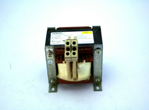 Siemens 4EM6100-6CB00 Choke Line Reactor 1-Phase 480VAC 45/50A 50hz Used