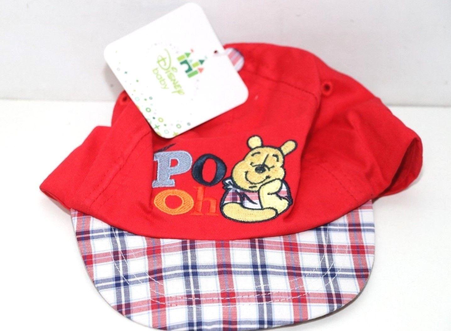 Disney Baby - Winnie the Pooh Cap / Cappy / Mütze für Junge Mädchen, 0-24m 48cm