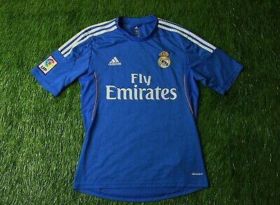 REAL MADRID SPAIN 2013/2014 FOOTBALL SHIRT JERSEY AWAY ADIDAS ORIGINAL SIZE S image