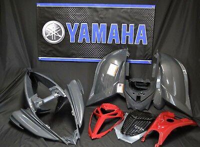 Raptor 700 plastics GENUINE YAMAHA fenders COMPLETE set 2006-2020 METALLIC GRAY