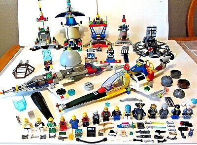 HUGE LEGO SET LOT MINI FIGURES SPACE POLICE Star Wars NINJAGO ACCESSORIES CHIMA