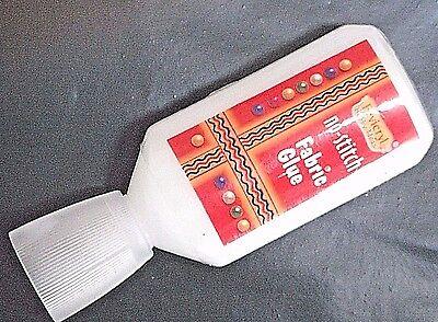 Fabric Glue Textile Hemming Adhesive Bond Craft Sewing No Stitch Strong Glue (Bond Fabric Glue)