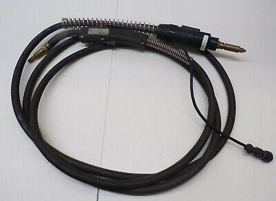 Tweco Cablehoz Mig Welder Feed Cable 400 Amp Mig Gun 52fm Metal Tip 15 Oal