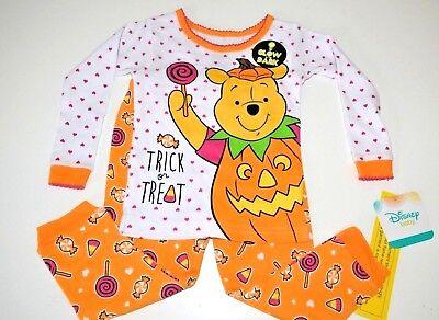 Disney Winnie The Pooh Halloween (New Disney Halloween Winnie the Pooh baby toddler girls pajamas 9m 12m 18m 24m)