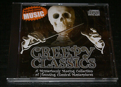 Creepy Classics CD Halloween Bald Mountain Gallows Macabre New 30 Minutes - Scary Creepy Halloween Music