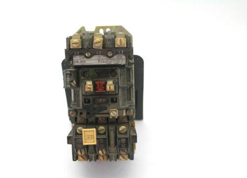 Allen Bradley 509-BOD SER B Size 1 Voltage Starter Used